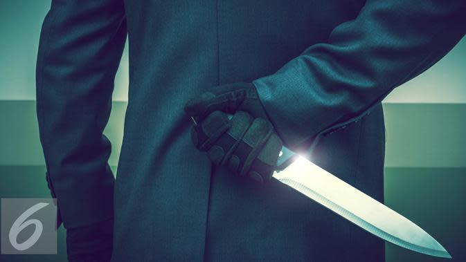 Ilustrasi Pembunuhan dengan Senjata Tajam (iStockphoto)