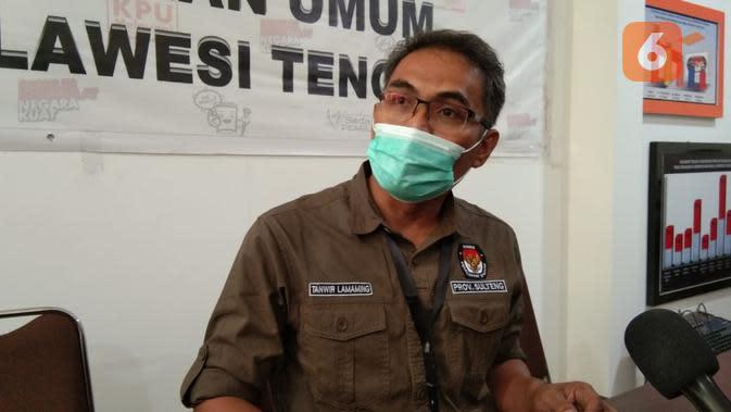 Pulang dari Bali, Ketua KPUD Sigi Positif Covid-19