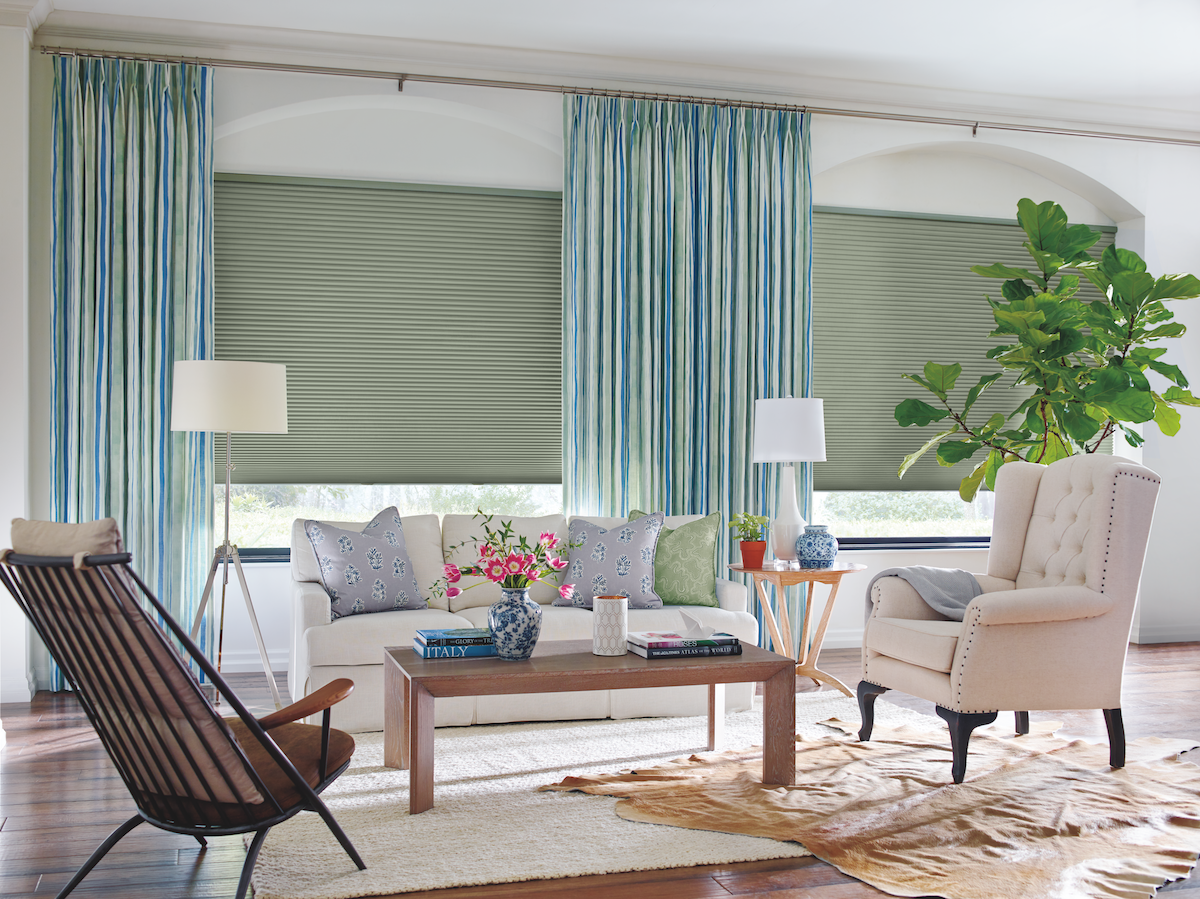 "<p><a class=""body-btn-link"" href=""https://www.hunterdouglas.com/stories/rebecca-atwood-collection"" target=""_blank"">REQUEST INFO</a></p><p><strong>Garden Stripe Curtain in Green/Blue by Rebecca Atwood.</strong> Prices vary. <em>hunterdouglas.com</em></p><p>Another high-end custom option, <a href=""https://www.hunterdouglas.com/"" target=""_blank"">Hunter Douglas</a> is a go-to for beautiful window treatments, especially if you're looking for state-of-the-art blinds and shades since that's where the brand got its start (but there's no shortage of curated designer curtains like this pick from <a href=""https://www.housebeautiful.com/design-inspiration/a29193506/hunter-douglas-design-studio-window-treatments-rebecca-atwood/"" target=""_blank"">Rebecca Atwood,</a> either!). The brand's new Duette LightLock shade system, for instance, is designed for the ultimate light blackout, and you can even get motorized options installed thanks to its Powerview technology. To shop, set up a consultation with a Hunter Douglas specialist. <em></em></p>"