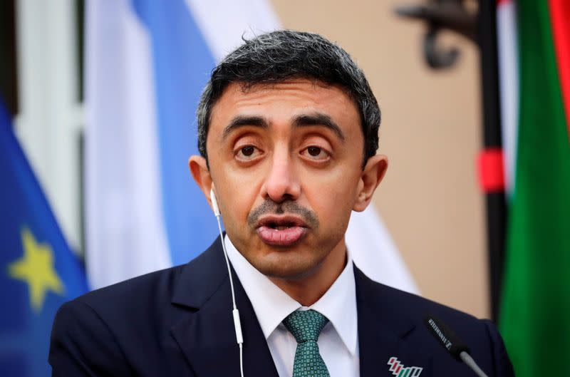 UAE foreign minister emphasizes return of hope to Palestinians and Israelis to work for two-state solution - WAM