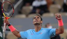 拚追平20座大滿貫冠軍紀錄 納達爾晉法網16強