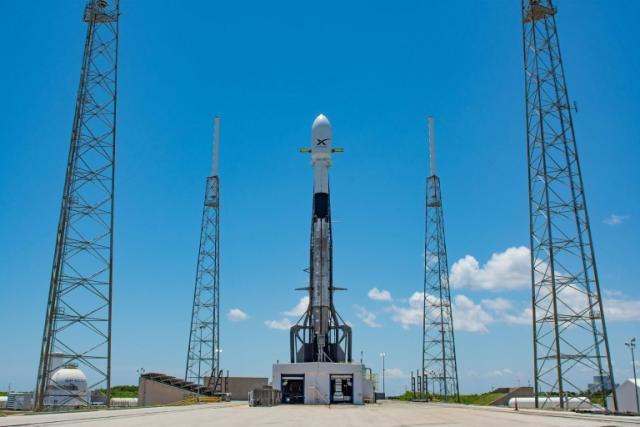 SpaceX发射卫星星座的第二阶段