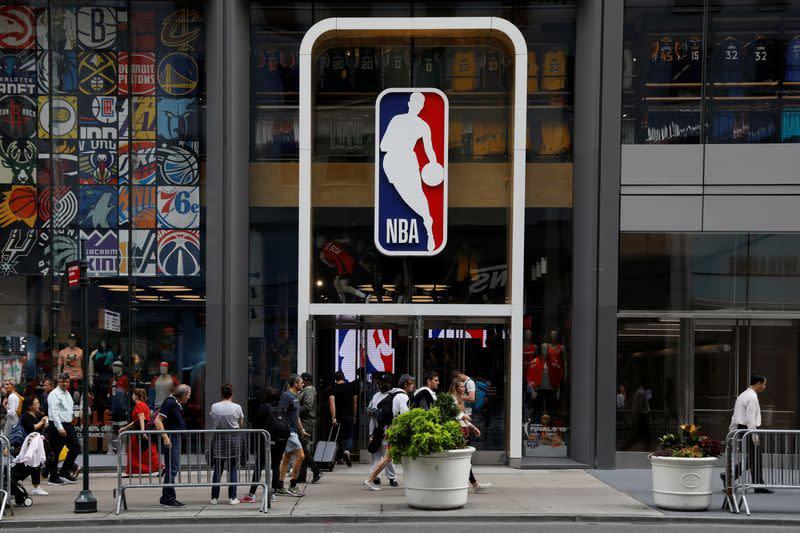 NBA adds antibody testing to protocols - report
