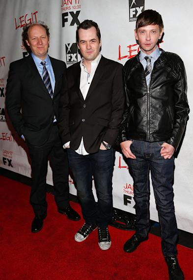 "Screening Of FX's New Comedy Series ""Legit"" - Red Carpet: Dan Bakkedahl, Jim Jefferies and DJ Qualls"