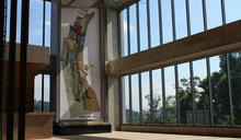 顏水龍藝術壁畫 豐原高爾夫俱樂部新館重新展出 (圖)