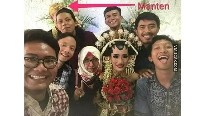 6 Momen Apes saat Pernikahan Ini Bikin Geregetan (sumber: Instagram.com/ngakakkocak)