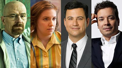 TIME 100 TV Honorees: Bryan Cranston, Lena Dunham, Jimmys Kimmel and Fallon