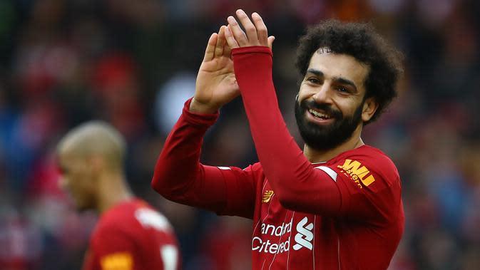 Janji Mohamed Salah untuk Liverpool Bikin Fans Gembira