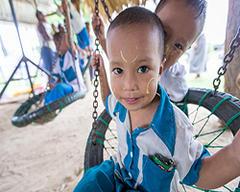 為緬甸烽火地區孩子點一盞燈!