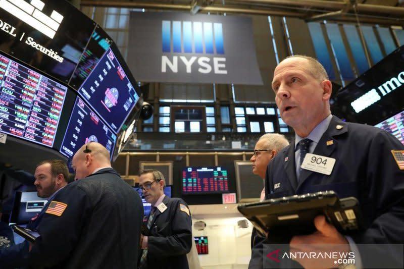Wall Street melambung lagi, pengajuan tunjangan pengangguran AS naik