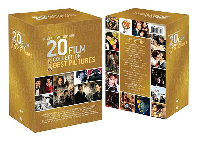 Yahoo! Movies Giveaway: Best of Warner Bros. 20 Film Collection: Best Pictures