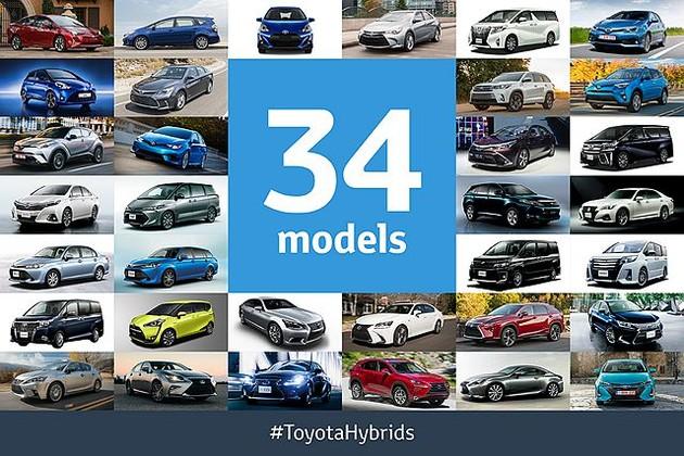 這2個數字,說明 Toyota 的 Hybrid 車賣得有多好!