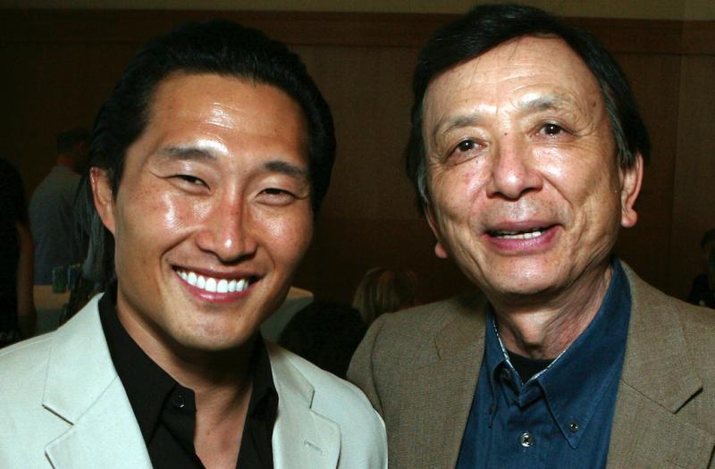 Daniel Dae Kim and James Hong in 2007 (Credit: Ryan Miller/Getty Images)