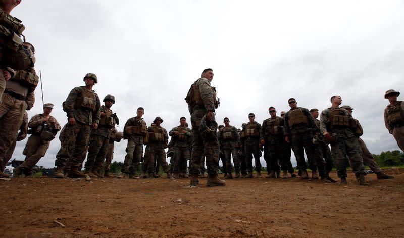 AS tengah berunding dengan Jepang soal perombakan Marinir, kata panglima