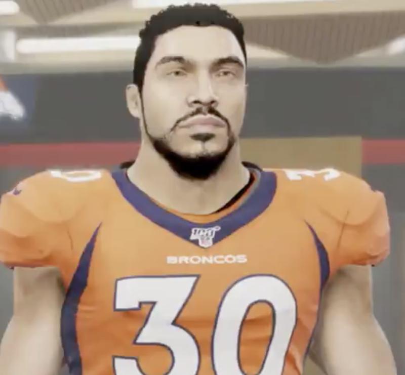 (Madden 20/Denver Broncos Twitter)