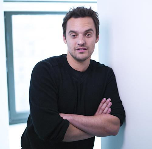 "This April 24, 2013 photo shows actor Jake Johnson from the Fox comedy television series ""New Girl,"" posing for a portrait in New York. (Photo by Scott Gries/Invision/AP)"