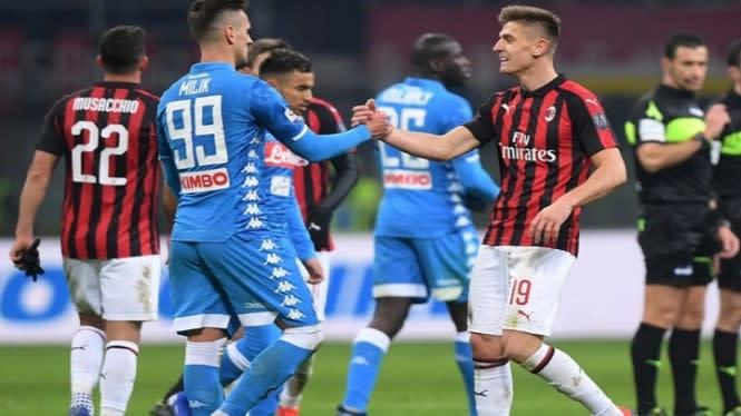 Akankah Napoli dan Gattuso Jadi Antitesis Kegemilangan AC Milan?
