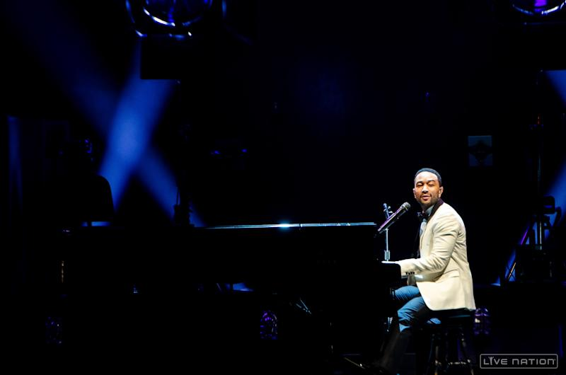 John Legend Proves Marvin Gaye's 'What's Going On' Still Relevant in Yahoo Live Set