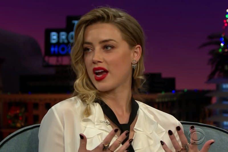"""Stylist"": syuting acara James Corden, tak ada luka pada Amber Heard"