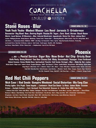 Bowie-Less But Otherwise Awesome Coachella 2013 Lineup Announced