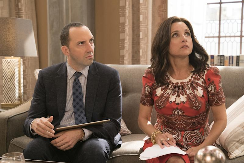 Julia Louis-Dreyfus of 'Veep' Makes Emmy History