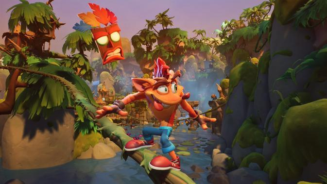 Crash Bandicoot 4: It's About Time. (Doc: Activision/Toys For Bob)