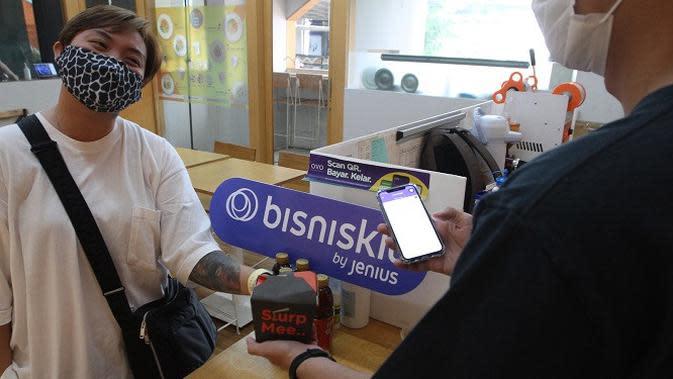 Pemanfaatan Bisniskit dari Jenius untuk mendukung transaksi bisnis. (Dok. Jenius)