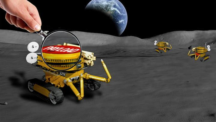 The JPL-led challenge is seeking tiny payloads no larger than a bar of soap for a miniaturized Moon rover.