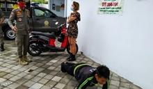 外國人在峇里島沒戴口罩 繳不出罰款要做伏地挺身