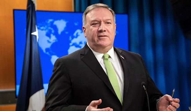 "US Secretary of State Mike Pompeo says the national security law ""would be a death knell"" for Hong Kong's autonomy. Photo: AP"