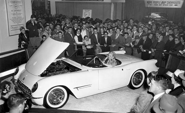 January 17: GM reveals the Corvette concept on this date in 1953