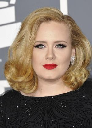 Adele Has Clever Method Of Camoflauge: Wear Bright Colors
