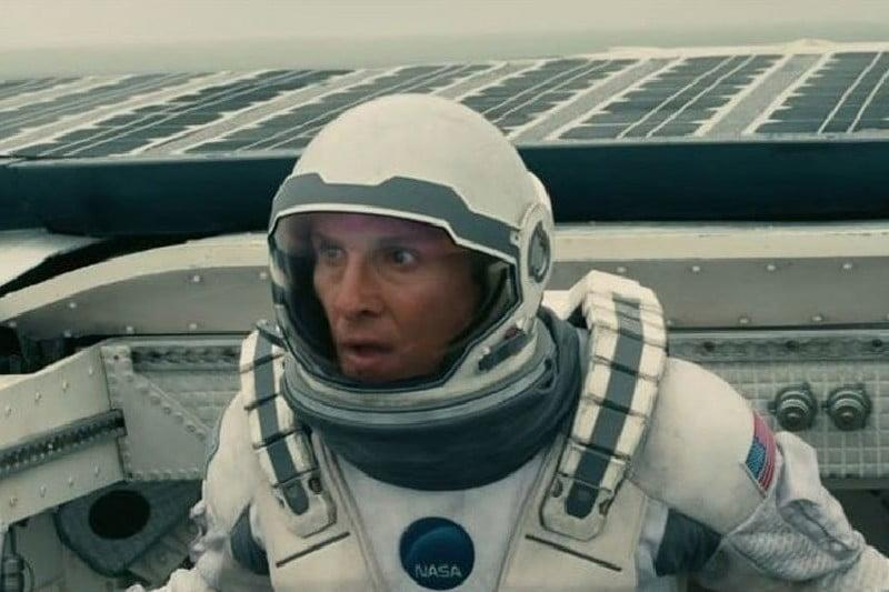 Shot from Interstellar