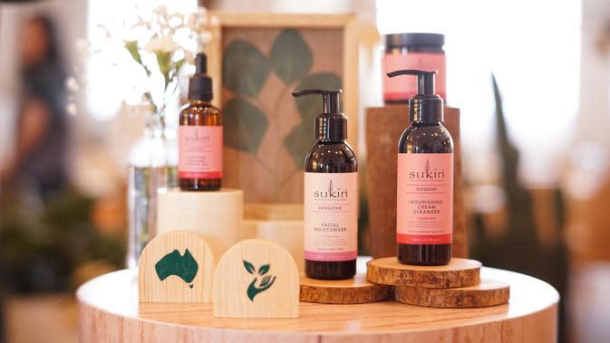 Skincare asal Australia, Sukin, hadir di Indonesia dengan menawarkan bahan dasar alami (Foto: Sukin)