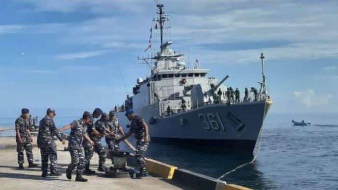 VIVA Militer: Kapal Perang TNI AL, KRI Fatahillah 361