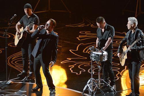 Good news for bands like U2 as Oscar rule changes take effect