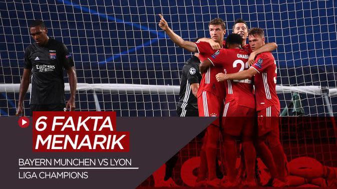 VIDEO: Fakta Menarik Usai Bayern Munchen Kalahkan Olympique Lyon di Semifinal Liga Champions