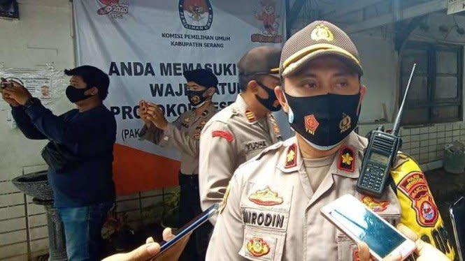Pengundian Nomor Urut, Polisi Akan Halau Massa Paslon di Serang