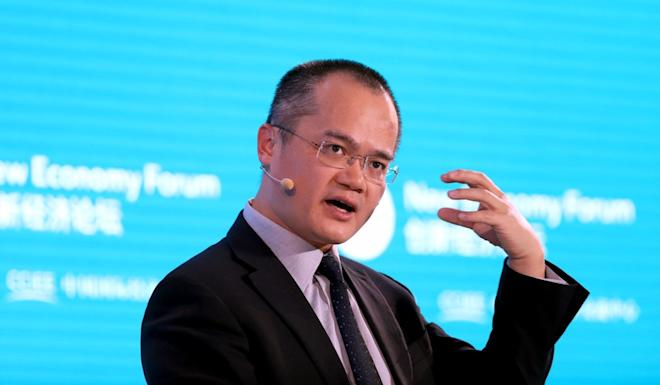 Wang Xing is chairman, chief executive officer and co-founder of Meituan Dianping. Photo: Bloomberg