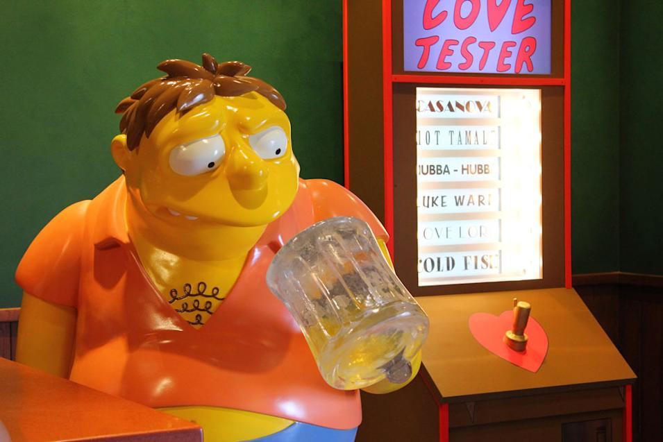 """The Simpsons"" at Universal Studios Orlando"
