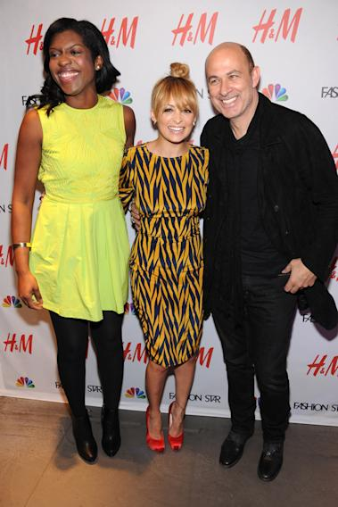 Nicole Christie, Nicole Richie and John Varvatos