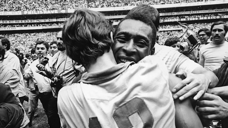 Pele Brazil World Cup 1970