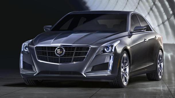 All-new 2014 Cadillac CTS sedan treads lightly, brings a 420-hp stick