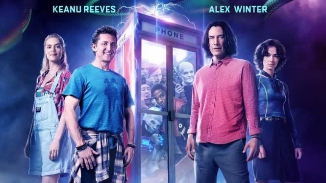Film Keanu Reeves, Bill & Ted Face The Music Rilis di Platform Online
