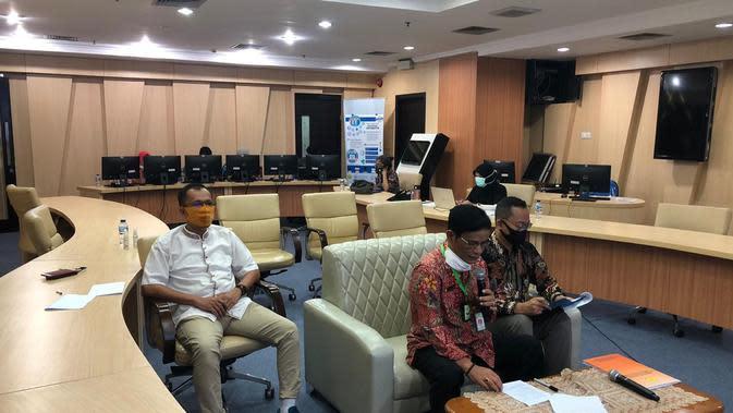 Direktur Jenderal Peternakan dan Kesehatan Hewan, Kementan, I Ketut Diarmita saat Seminar Online Memahami dan Mewaspadai Ancaman Virus Flu Babi Baru (G4 EA H1N1).