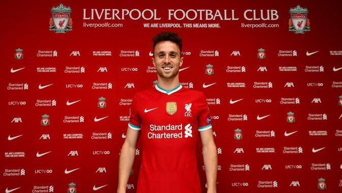 Liverpool resmi mendapatkan Diogo Jota dari Wolverhampton. (Dok. Twitter/Liverpool FC)