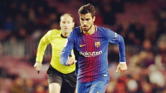 Gelandang Barcelona, Andre Gomes
