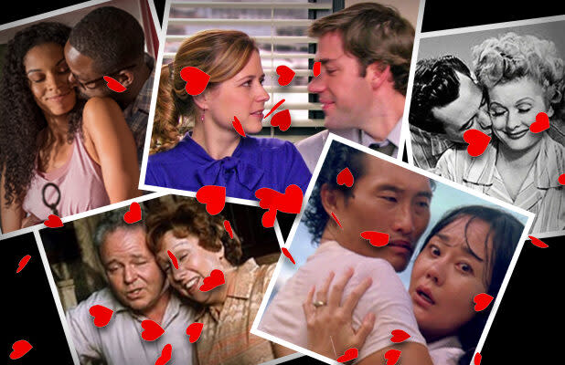 47 Best TV Couples of All Time, From Lucy and Ricky to Jim and Pam (Photos)