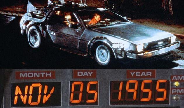 "November 5: Marty McFly goes ""Back to the Future"" on this date in 1955"