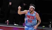 KD、厄文沒上 哈里斯砍6顆三分彈!籃網打爆龍頭76人